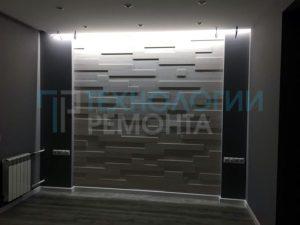 Отделка апартаментов площадью 186м² по дизайн проекту