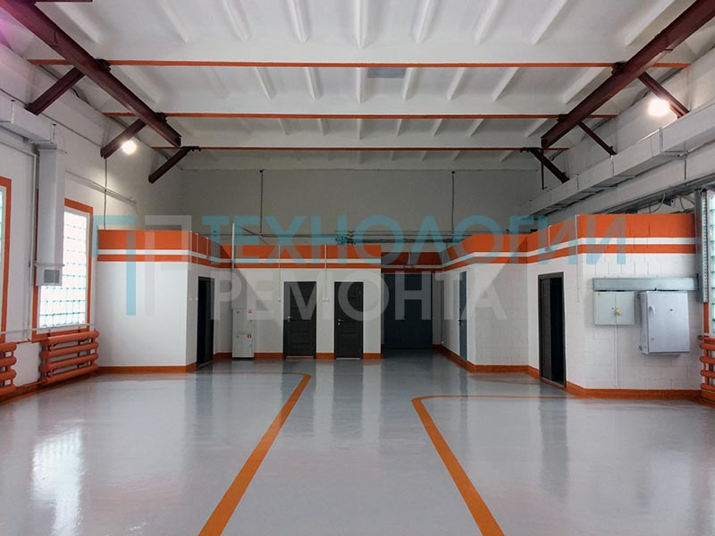 ремонт производственных помещений 2