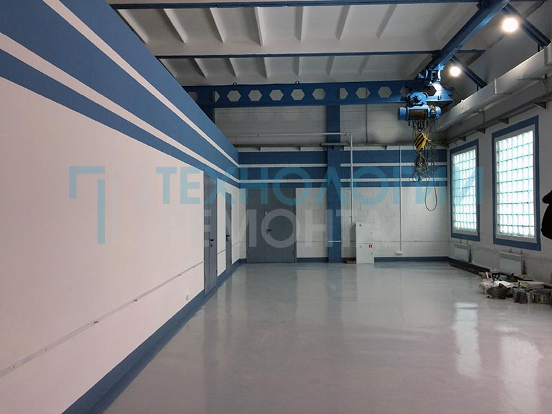 ремонт производственных помещений 6