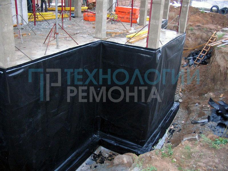 Гидроизоляционные работы в Москве и области