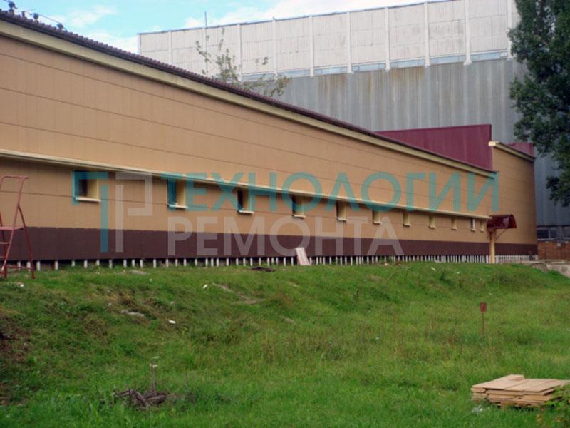 Ремонт фасада 2